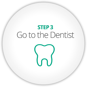 STEP 3 - Go to the Dentist